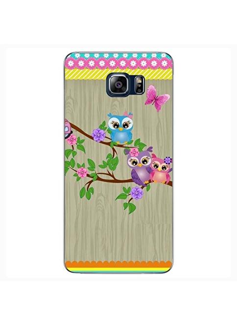 People's Cover Samsung NOTE 5 Kabartmalı Telefon Kılıfı Renkli